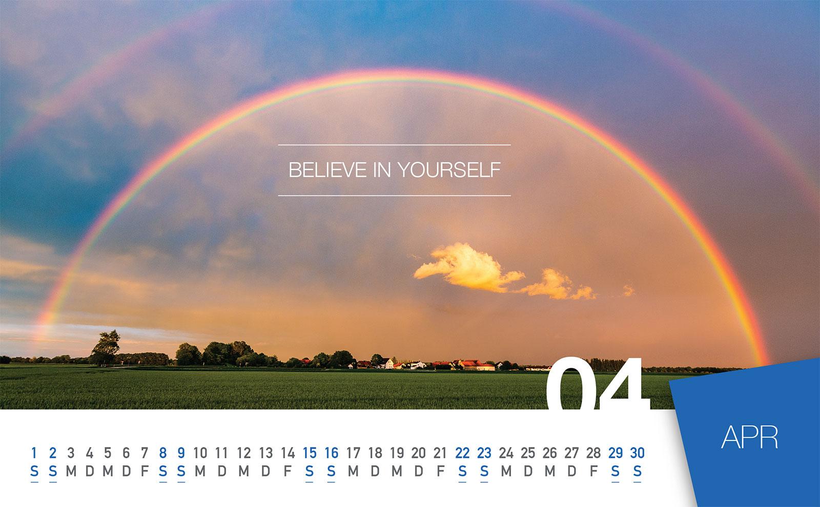 ewico 2017 Desk Calendar - April